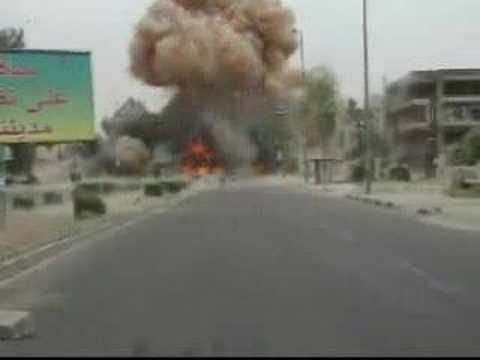 Massive Car Bomb Explosion