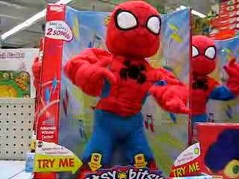 Spiderman sin muñecas