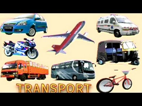 Play & Learn Transport  - Animated Series