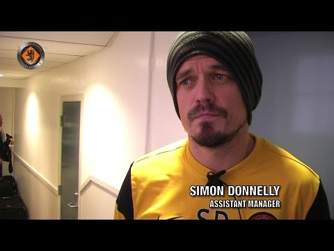 Dundee United - Simon Donnelly pre Match v Motherwell 29.11.2014