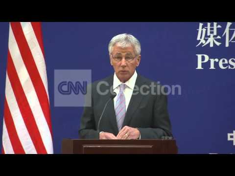 CHINA: HAGEL ON DEFENSE ZONES