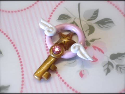 DIY Polymer clay: Card Captor Sakura Star Key