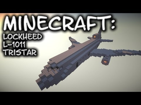 Minecraft: Lockheed L-1011 TriStar Tutorial