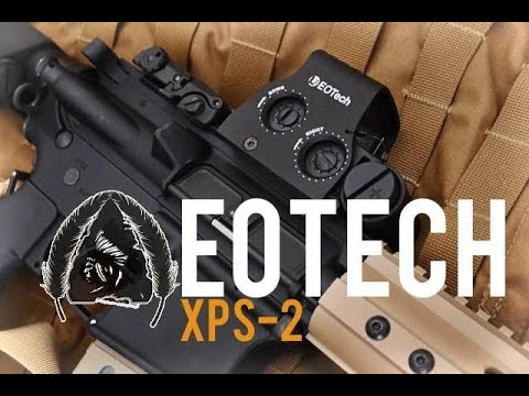 Shooting the EOTech XPS-2