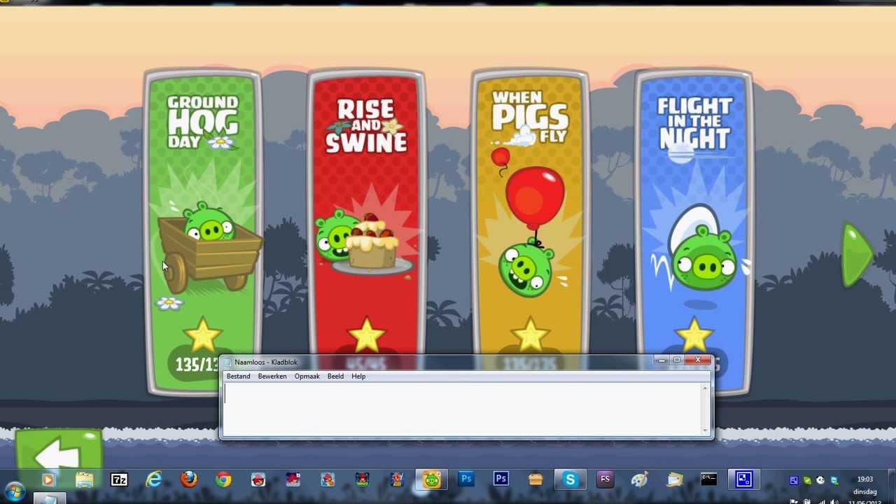 Download free game bad piggies pc windows 7