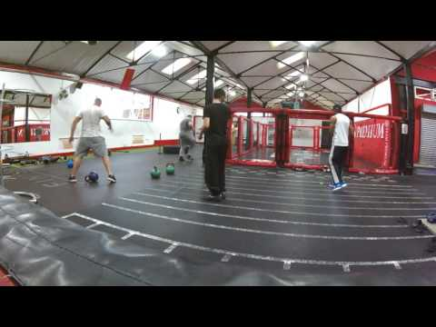 Maz Sn 15 year old Amateurs Boxing 50kg Pad Work, Bag work, Skipping @Premium Fitness Birmingham(8)