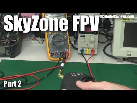 SkyZone FPV video glasses/goggles (part 2)