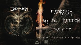 EXORCISM - Virtual Freedom (Lyric Video)