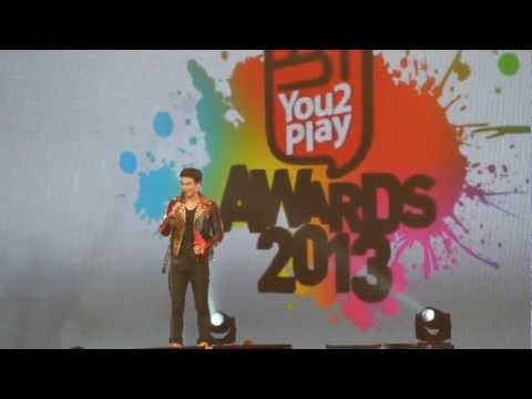 [You2PlayAwards2013] Hunz รับรางวัล Teen pop ^^