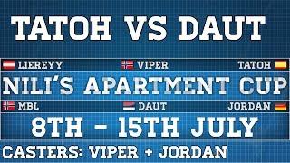 AoE2   NAC   TaToH vs DauT   Casted by Viper+JorDan