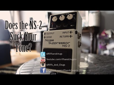 Does The Boss NS-2 Suck tone?