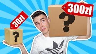 MYSTERY BOX ZA 300ZŁ VS 30ZŁ!