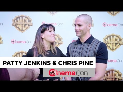 Wonder Woman | Chris Pine & Patty Jenkins Interview | CinemaCon 2017