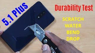 [Hindi] Nokia 5.1 Plus Durability (DROP, SCRATCH, WATER, BEND) Test !