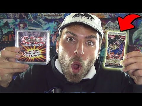 *MADNESS* Opening a RETRO YuGiOh Mystery CUBE from Walmart! probably OVER $100 Value?!
