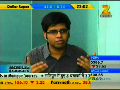 Karbonn Smart  Tab 1 review in Zee Business - Mobile & gadgets Show-10.01pm-06.29min.mpg