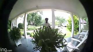 My Ring DoorBell experience-Dude leaves