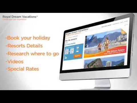 Activate your Royal Holiday Dream Vacations online account, video tutorial