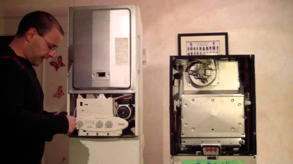 averia caldera de gas tutorial sustitucion sondas