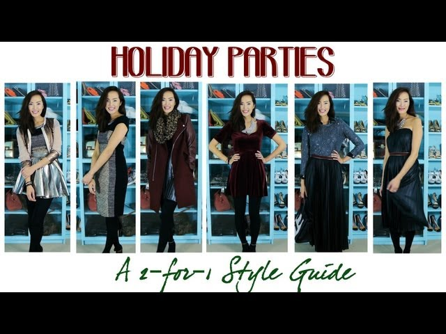 Holiday Parties - A 2-for-1 Style Guide