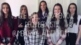 Cimorelli Sacramento Jingle Ball and Merchandise announcements!!!