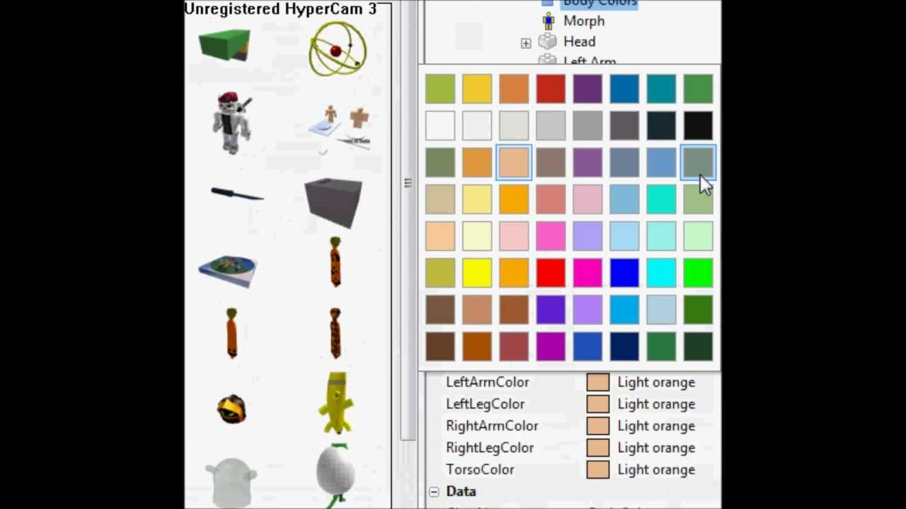 how to make your own morph on roblox