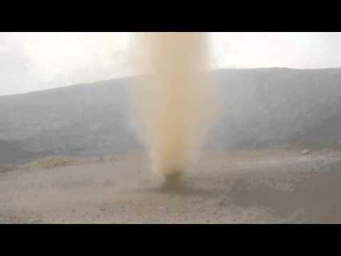 Trąba Powietrzna W Drodze Na Jebel Shams Oman