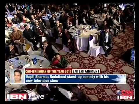 Kapil Sharma vs Arvind Kejriwal.Kapil gets IOTY award.