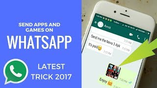 Share Apps And Games In Whatsapp