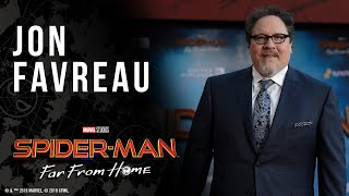 Jon Favreau on his role of a lifetime in Spider-Man: Far From Home LIVE on the red carpet