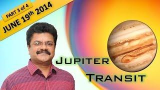 Jupiter Transit 2014 June 19th : Dhanus, Makara, Kumbha & Meena Rasi