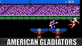 American Gladiators  - NES Playthrough #101: 【Longplays Land】