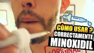 Cómo usar minoxidil Kirkland? (barba) -VICTOR CABALLERO