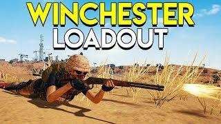 Winchester Loadout - PLAYERUNKNOWN'S BATTLEGROUNDS