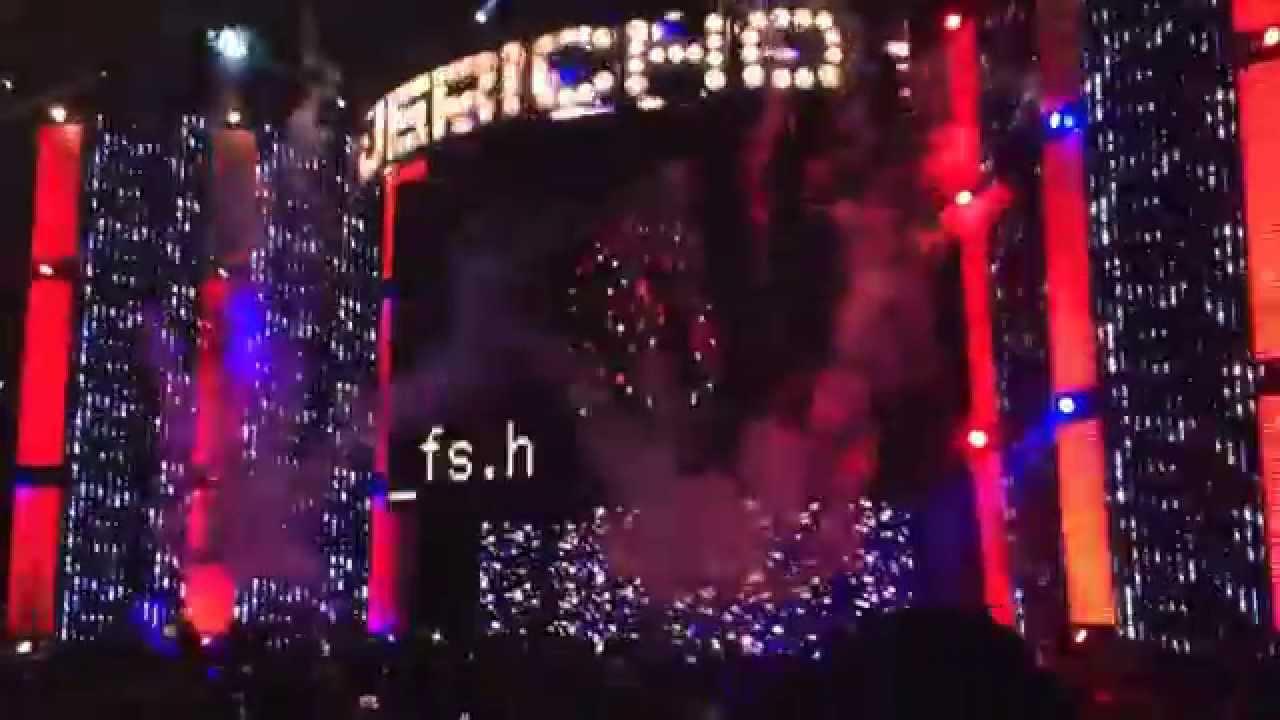 Chris Jericho Entrance Chris Jericho Summerslam