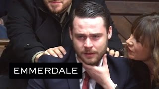 Emmerdale - Gordon Is Found Guilty Of Raping Aaron