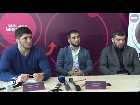 Борцы вольного стиля — главные звезды чемпионата Европы в Каспийске