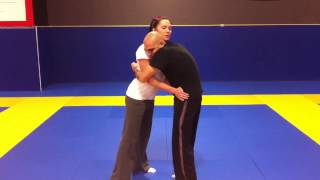 Alpha Cat Zingano - Fitness Training in Westminster CO. Bear Hug Self Defense 2