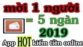 1 Giây Kiếm Tiền Online App Mới Hot Kiếm Tiền 2019. Mời 1 bạn bè đc 5k.  Không Chơi Là Phí.
