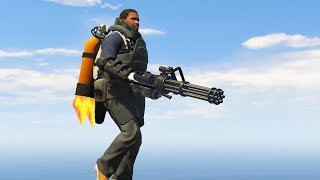 EXTREME JET PACK MOD! (GTA 5 Mods Funny Moments)