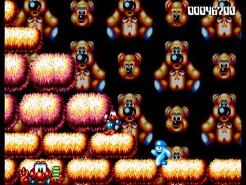 James Pond 2- Codename Robocod - James Pond 2 (Genesis) - 1st Time Playing - User video