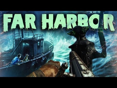 Fallout 4 DLC Far Harbor DLC Trailer in-Depth Breakdown ! (Fallout 4 Far Harbor Gameplay Breakdown)