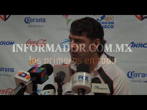 Chávez, contento con accionar de Atlas
