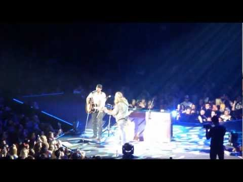 Drink A Beer at WVU  by  LUKE BRYAN Live MORGANTOWN WV 3-24-2013 Recorded by my daughter.