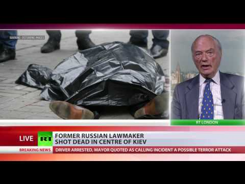 'Anything Ukraine sees negative, points at Moscow' - Analyst on fmr Russian lawmaker murder in Kiev