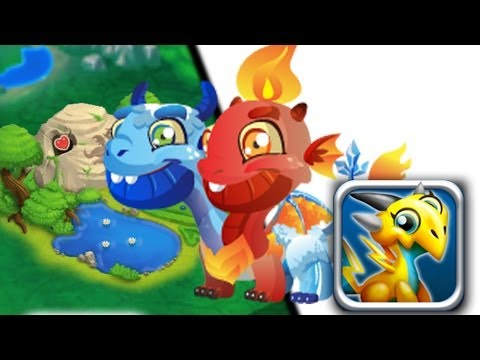 How to breed Ice & Fire Dragon 100% Real! Dragon City Mobile! wbangcaHD!