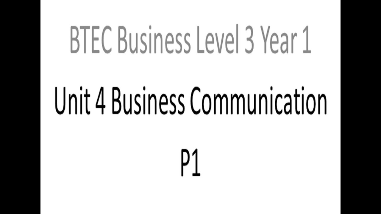 unit 4 p1 m1 Understanding different types of business information lesson objectives: i will be able to explain the different types of infomation a business uses (pass).