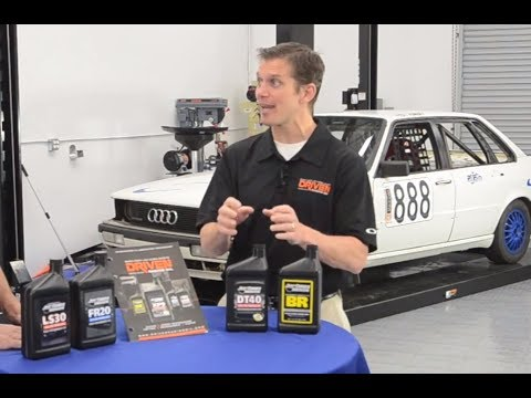 How Driven Racing Oil is Formulated - Presented by Andy's Auto Sport