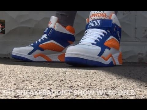 Ewing Athletics Focus New York Knicks Home Shoe Review + On Feet W/ DJ Delz @DjDelz