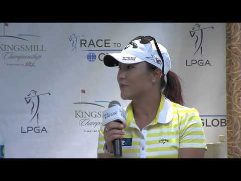 Lydia Ko's Pre-Tournament Interview at Kingsmill